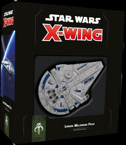 Star Wars: X-Wing 2.Ed. Landos Millennium Falke (DE)