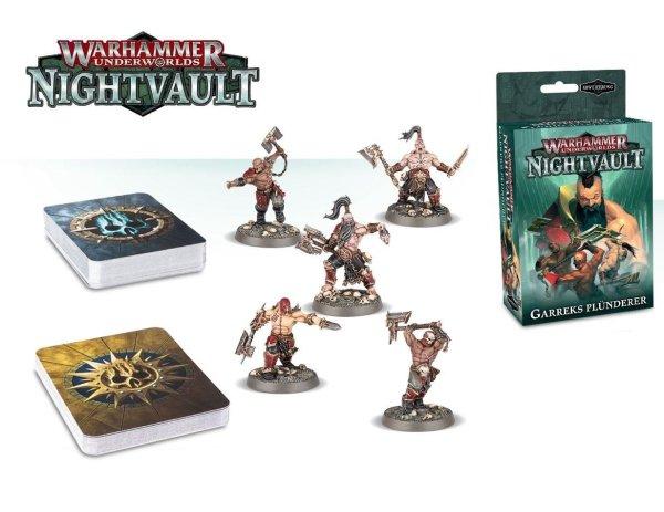 Warhammer Underworlds: Nightvault - Garreks Plünderer (DE)