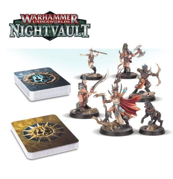 Warhammer Underworlds Nightvault: Jagd der Götter (DE) Erweiterung
