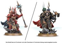 Chaos Space Marines - Sorcerer/ Terminator Lord