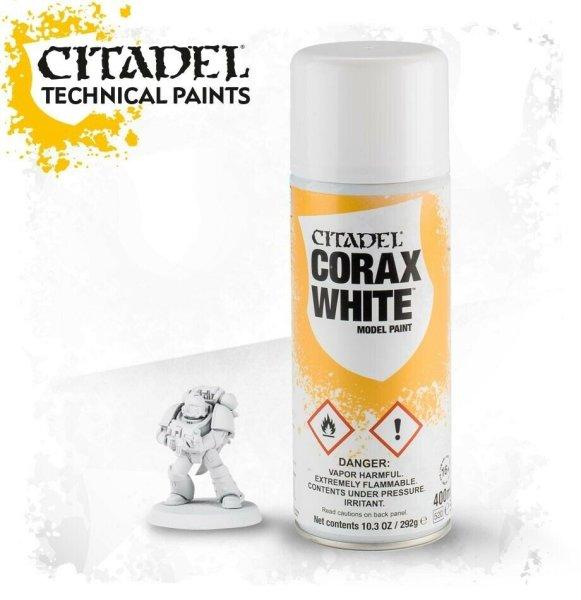 Citadel Corax White Sprühgrundierung Spray 400ml