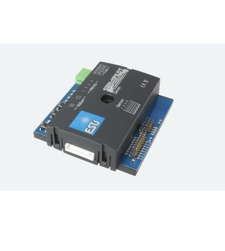 ESU 51822 SwitchPilot Servo V2.0, 4-fach Servodecoder, DCC/MM, RailCom