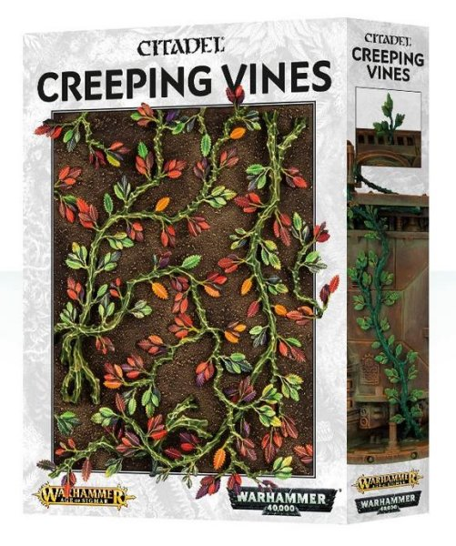 Citadel GW - Creeping Vines, Warhammer Basegestaltung