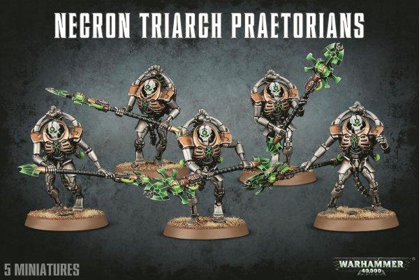 Necrons: Triarch Praetorians