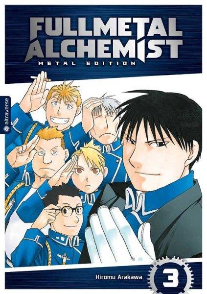 Full Metal Alchemist Metal Edition 3 (DE)