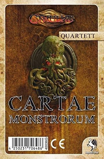 Cthulhu: Cartae Monstrorum Quartett