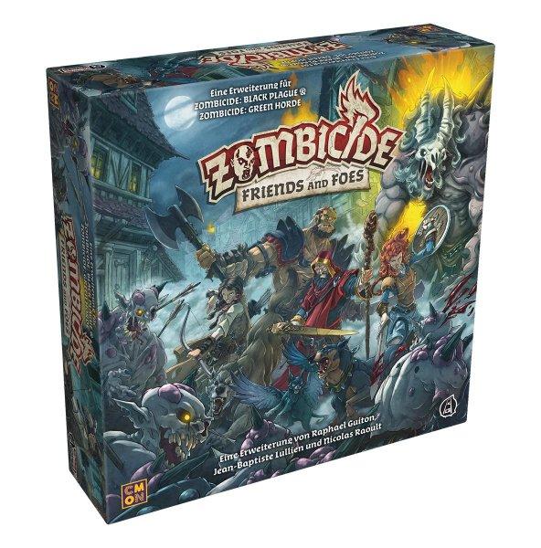 Zombicide: Green Horde - Friends and Foes, Erweiterung (DE)