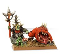 Gloomspire Gitz - Loonboss with Giant cave Squig