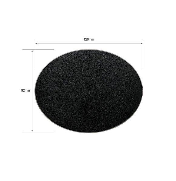 Citadel-Ovalbase (120 mm x 92 mm) 1 Stück