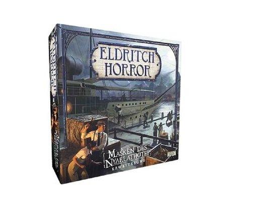 Eldritch Horror: Masken des Nyarlathotep Erweiterung (DE) Arkham Files