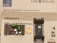 ESU 58315 L Sounddecoder V5 DCC/MOT mfx...