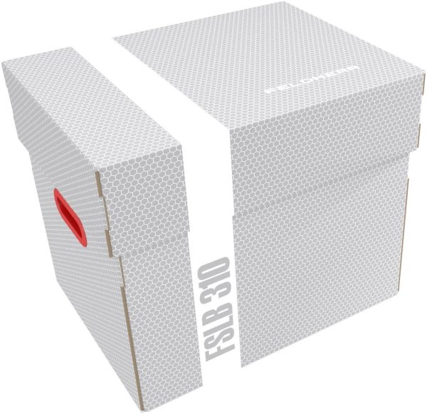 Feldherr FSLB310 Lagerbox Lagerkarton leer für Half-Size / Full-Size Schaumstoff