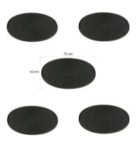 Citadel-Ovalbases (75x42 mm) 5 Stück