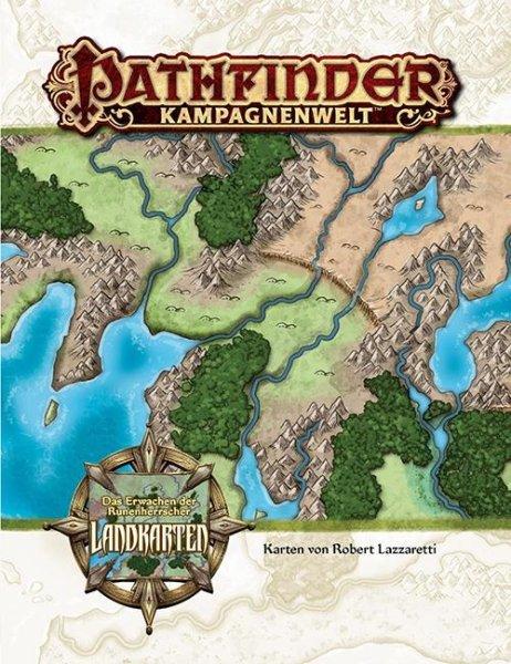 Pathfinder Kampagnenwelt: Das Erwachen der Runenherrscher Landkartenset (DE)