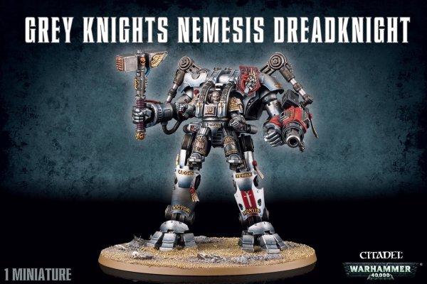 Grey Knights - Nemesis Ritter Dreadknight