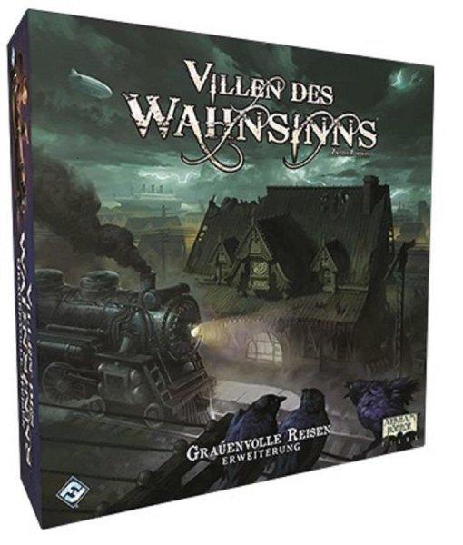 Villen des Wahnsinns 2.Edition: Grauenvolle Reisen, Erweiterung (DE)