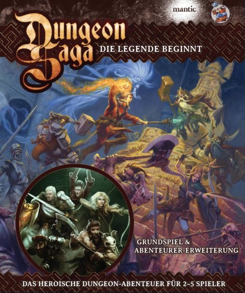Dungeon Saga Deluxe: Die Legende beginnt  (DE)