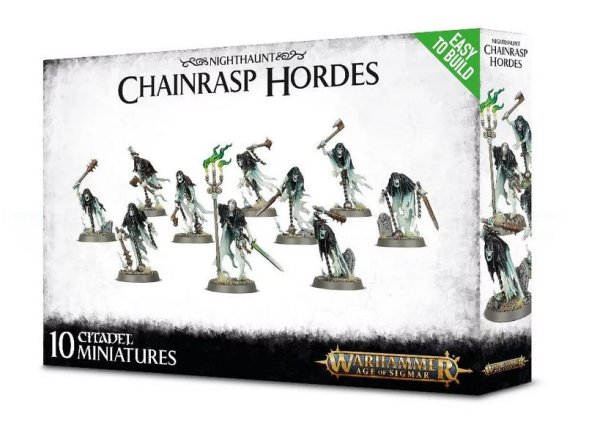 Nighthaunt - Easy to Build: Chainrasp Hordes