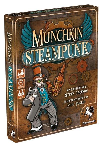 Munchkin Steampunk (DE)