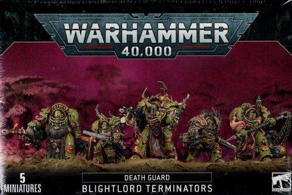 Death Guard - Blightlord Terminators