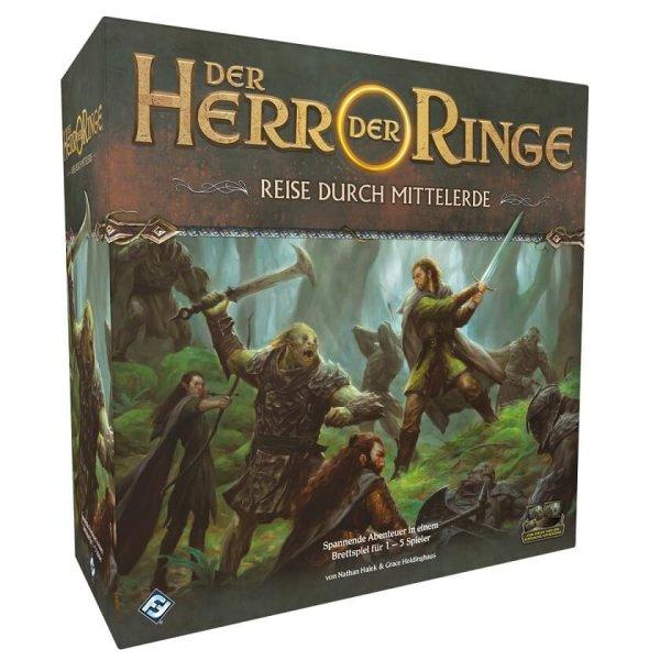 Herr der Ringe: Reise durch Mittelerde, Grundspiel (DE)