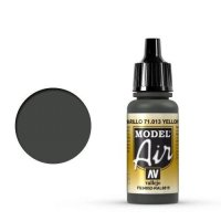 Vallejo Model Air 71.013 Yellow Olive, 17ml