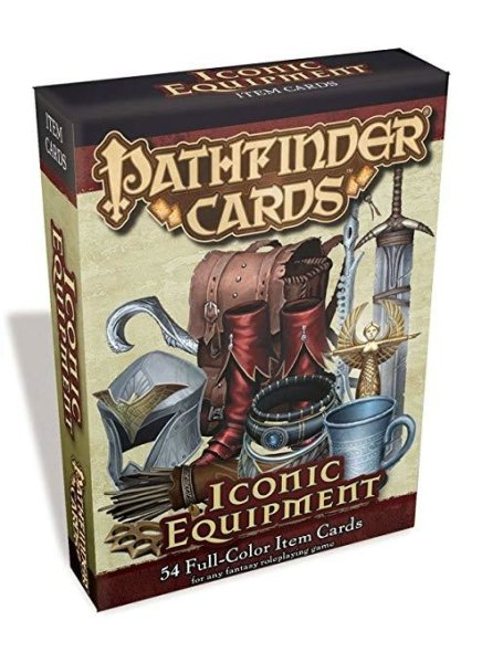 Pathfinder Cards Iconic Equipment (EN)