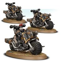 Chaos Space Marines - Chaos Bikers