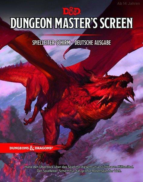 Dungeons & Dragons 5: Dungeon Masters Screen, Spielleiter Schirm (DE)