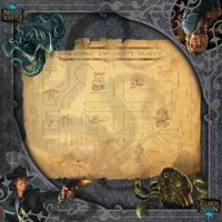 Arkham Horror Elder Sign: Museum Gamemat Spielmatte...