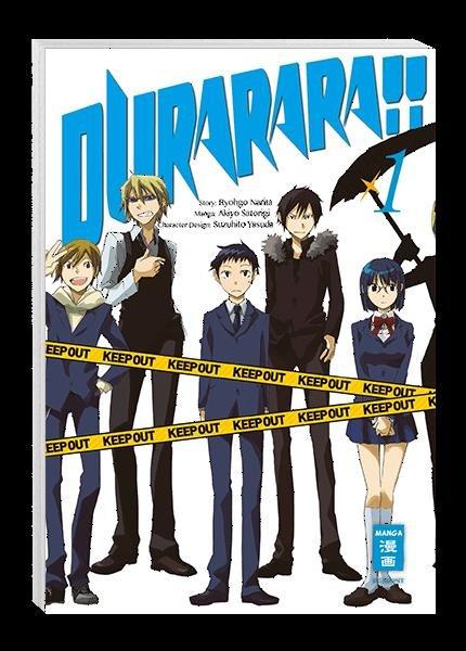 Durarara!! 01 -Akiyo Satorigi / Suzuhito Yasuda