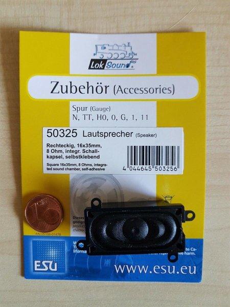 ESU 50325 Lautsprecher m.Schallkapsel 35mmx16mmx9mm, 8 Ohm, 0,5W,