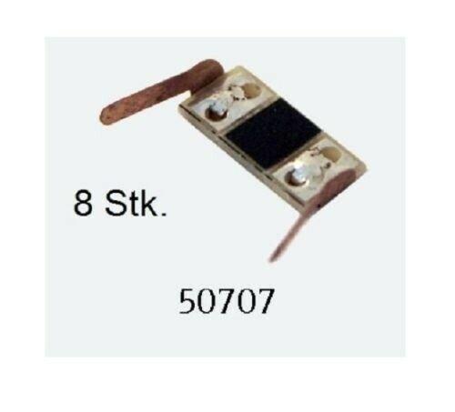 ESU 50707 Stromabnehmer f. Waggons (8 Stk.) H0,TT,N Radkontakt, Innenbeleuchtung