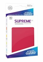 Ultimate Guard Supreme UX Sleeves Standard Rot (80)...