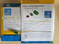 ESU 54671 Power Pack Energiespeicher für V4 Decoder...