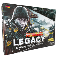 Pandemic Legacy - Season 2 Schwarz (DE)