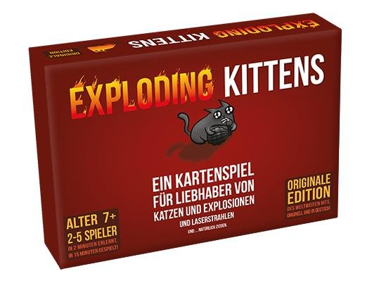 Exploding Kittens - Kartenspiel (DE)