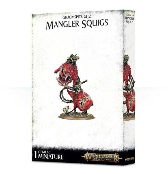 Gloomspite Gitz - Mangler Squigs / Loonboss auf Mangler Squigs