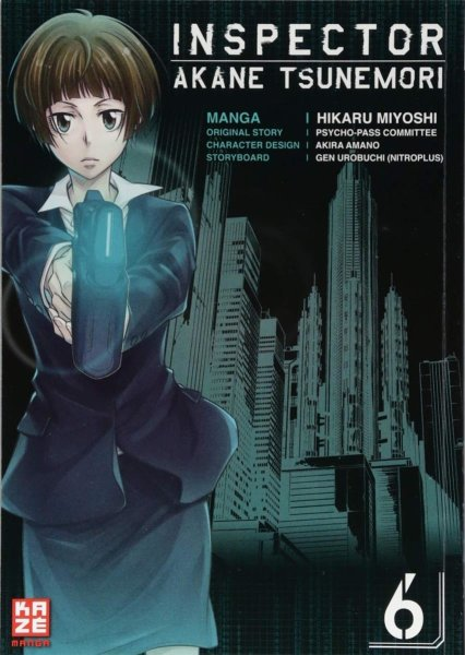 Inspector Akane Tsunemori 6 - Hikaru Myoshi