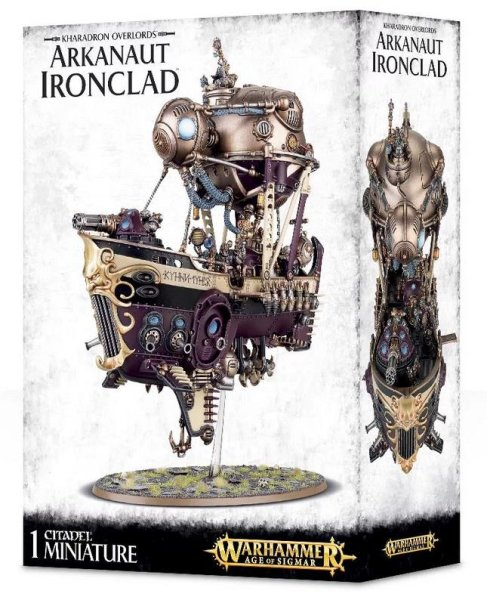 Kharadron Overlords: Arkanaut Ironclad, Warhammer AoS Age of Sigmar