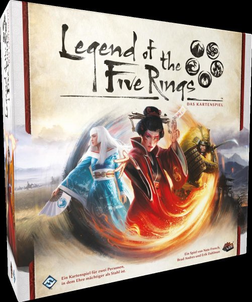 Legend of the Five Rings LCG: Grundspiel (DE) Das Kartenspiel