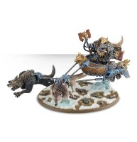 Space Wolves - Logan Grimnar on Stormrider