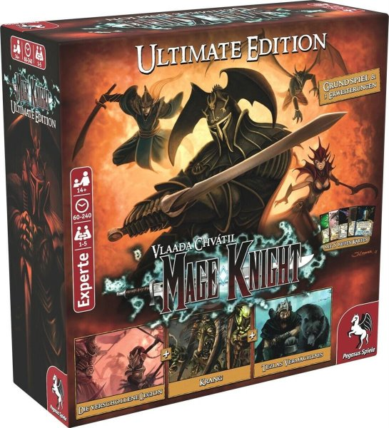 Mage Knight Ultimate Edition (DE)