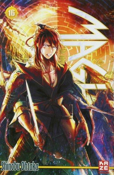 Magi - The Labyrinth of magic 16 - Shinobu Ohtaka