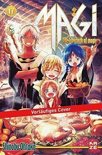 Magi - The Labyrinth of magic 17 - Shinobu Ohtaka