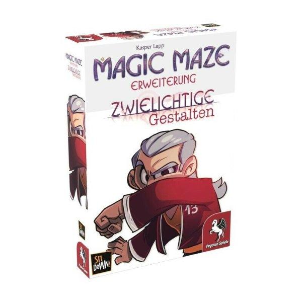 Magic Maze: Zwielichtige Gestalten, Erweiterung (DE) Brettspiel