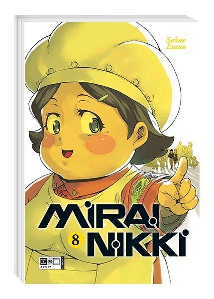 Mirai Nikki, Band 08 (DE)