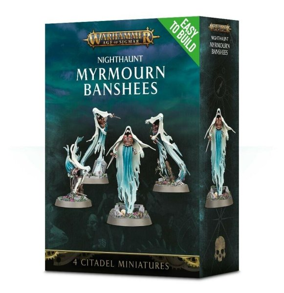 Nighthaunt - Easy to Build Myrmourn Banshees