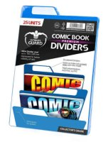 Ultimate Guard Comic Book Dividers Premium Blau 25 Units