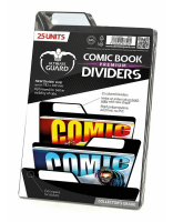 Ultimate Guard Comic Book Dividers Premium Schwarz 25 Units